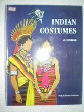 INDIAN COSTUMES RARE BOOK INDIA 2003