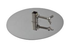 Stainless Steel Souvlaki GYROS PLATES 10.5mm collar