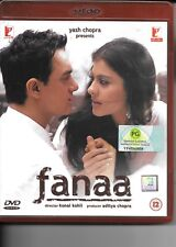 Fanaa (DVD) Aamir Khan, Kajol, Rishi Kapoor - bollywood hindi movie
