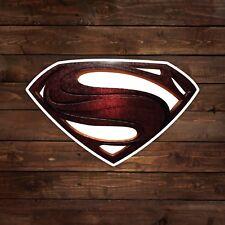 Superman DCEU Justice League Logo Decal/Sticker