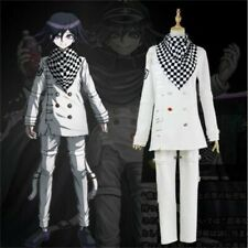 Anime Danganronpa 3 Ouma Kokichi Cosplay Costume School Uniform Halloween Outfit