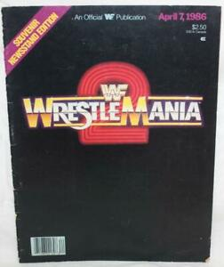 WWF Wrestle Mania  April 7,1986  Souvenir Newsstand Edition ~107~