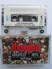 THE STRANGLERS GREATEST HITS 1977-1990 CASSETTE TAPE RARE MADE IN HOLLAND TESTED