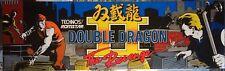 """Double Dragon II (2) the Revenge Arcade Marquee 26"""" x 8"""""""