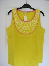 Boden Linen Casual Sleeveless Tops & Shirts for Women