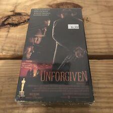 Unforgiven (Vhs, 1993) New Sealed | Clint Eastwood, Gene Hackman, Morgan Freeman