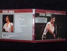 CD STEVE EARLE / LIVE FROM AUSTIN TX /