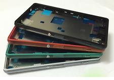 Medio Carcasa LCD Teléfono Marco Polvo USB Puerta Enchufe para Sony Z3