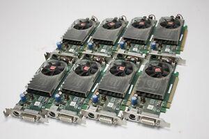 Lot of 8 ATI Radeon 2400XT B276 Grapihcs Cards Low Profile XX355