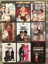 Classic American Comedies of 50s, 60s, 70s, 80s, and 90s Collection - 9 DVD Lot