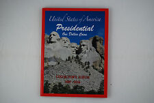 US PRESIDENTIAL $1 (ONE DOLLAR) COINS COLLECTOR'S ALBUM BOOK 2007-2016