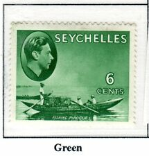 SEYCHELLES 1949  sg137ac    6 cents   um mnh