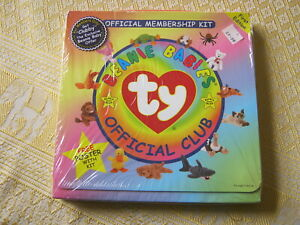 THE BEANIE BABIES OFFICIAL CLUB MEMBERSHIP KIT - in ORIGINAL WRAPPER