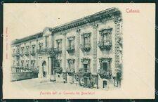 Catania Città Convento dei Benedettini cartolina XB5197