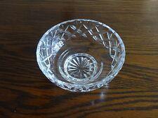 Webb Corbett cut glass crystal fruit dishes