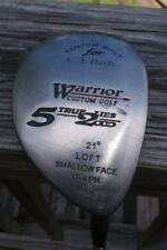 Warrior Custom Golf True Lies 2000 21° 5 Wood Golf Club graphite shaft RH