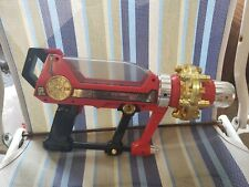 Bandai Red Power Rangers Zeo Cannon Blaster Gun 1996 LIGHTS AND SOUNDS WORK