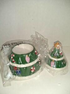 "Yankee Candle Christmas Tree Electric Wax Melts Warmer Open Box 6.5""  (e)"