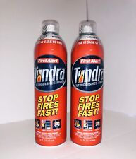 First Alert Fire Extinguisher | Tundra Fire Extinguishing Aerosol Spray, Pack 2