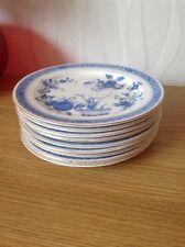 ROYAL CROWN DERBY  'Chandos' Tea Plates  c1883 Very Good Antique Condition