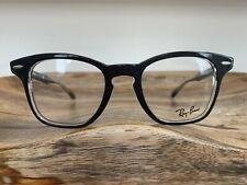 Ray-Ban Eyeglasses RB5244 2034 Top Black On Transparent Frame 47mm
