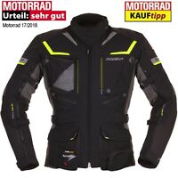 MODEKA Motorradjacke PANAMERICANA gelb schwarz Sympatex SAS-TEC Protektoren M