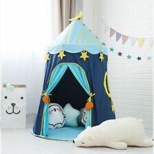 Large Moon Stars Children Play Tent Kids Foldable Castle Playhouse Toddler Gift
