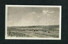 Vintage Photo Unusual Exposure Over Clouds in Open Sky on Desert Horizon 400079