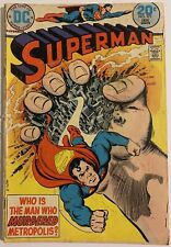 SUPERMAN #271. JAN 1974. DC. VG. BAGGED & BOARDED. FREE P&P!