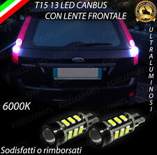 LAMPADE RETROMARCIA 13 LED T15 W16W CANBUS FORD FIESTA V RESTYLING NO ERROR
