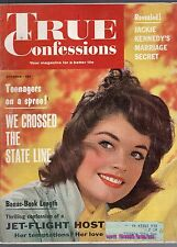 OCTOBER 1962 TRUE CONFESSIONS MAGAZINE--ROMANCE-STORY-VINTAGE ADS-RARE