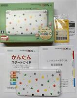 Nintendo 3DS LL Console Animal Crossing Happy Home Designer Used