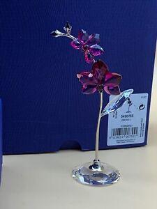 Swarovski Figurine 5490755 Orchid Blumenträume 12,6 Cm. New