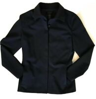 The Limited Women's Navy Blazer Size Small Jacket Career Stretch 5 Hidden Button