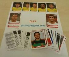 Panini World Cup 2010 South Africa Complete set of 60 coca cola stickers Mint