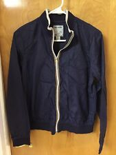 Girl's Old Navy Dark Blue Windbreaker Jacket   Size M  NWOT