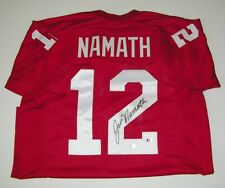 Joe Namath Signed Auto UA Alabama Crimson Tide Jersey - Beckett Witness JN  Holo b7b7ba796