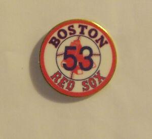 The Boston Red Sox #53 Rich Hll Baseball 53 Pin NIP Lapel Sports