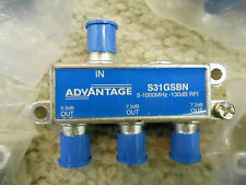 Advantage Tap, Splitter, 5-1000 Mhz, 130dB Rfi, Qty. 5