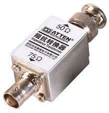 RF High-Frequency 1000M 1GHz Impedance Transformer Converter 50-75 Ohm 250mW BNC