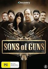 Sons Of Guns : Season 1 (DVD, 2012, 3-Disc Set) New Sealed Region 4