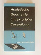 Analytische Geometrie in vektorieller Darstellung Höwelmann Köhler Krämer
