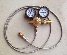 Nitrogen regulator king fox air shock regulator race shocks stainless 6'  hose