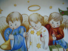 """Heavenly Trio"" Christmas Collector Plate by Sister Berta Hummel from Schmid!"