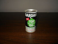 ANTIQUE VINTAGE BARDAHL TOP VALVE LUBRICANT OIL NEVER OPENED 6 U.S. FLUID OZ.
