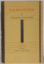 William Faulkner Salmagundi 1932 first edition with Hemingway poem