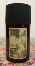 LARGE WEN SWEET ALMOND MINT TEXTURE BALM by CHAZ DEAN 3 OZ. (NOT SEALED)