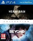 Heavy Rain & Beyond Two Souls Collection PS4 * NEW SEALED PAL *