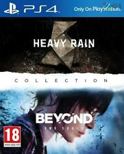 Heavy rain & beyond two souls collection PS4 * neuf scellé pal *