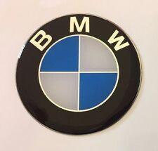 BMW STICKER/DECAL - 50 mm de diámetro acabado de alto brillo abovedado Gel
